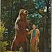NE Grayling MI 1960s The famous FRED BEAR or should I say BEARS times two HUGE Koduak Alaskan Brown Bear taken with his bow BEAR ARCHERY COMPANY