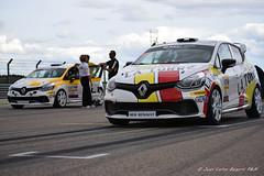 Clio Cup España,preparando salida