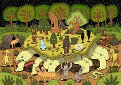 Giant Tortoise (Jack Teagle) Tags: cute nature animals drawing tortoise legendary fantasy beast monsters creatures myth mythical