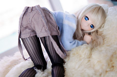 I'm not doing a single thing this Sunday~ (Mr.MVP) Tags: doll bjd dd dollfie volks dollfiedream