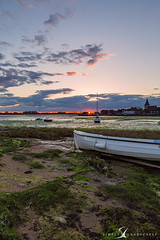Bosham 7384 (simply-landscapes.co.uk) Tags: blue sunset sky storm clouds boats boat bosham spring tide low boshamhoe simplylandscapes boshamquay