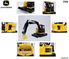13_overview_functions (LegoMathijs) Tags: road scale yellow john chains team model lego display technic dozer blade snot deere compact excavator moc 75g foitsop decalls legomathijs
