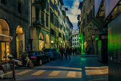 At night in Florence (Arutemu) Tags: city travel italien urban italy canon florence scenery europe italia european cityscape view scenic eu ciudad scene tuscany vista firenze siena toscana  scenes ville  6d             eos6d   canon6d