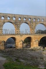 40080187 (wolfgangkaehler) Tags: bridge france water french europe european roman bridges unescoworldheritagesite aqueduct nimes pontdugard aqueducts southernfrance 2016 1stcenturyad gardonriver garddepartment