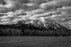 morning clouds over Sopris - HDR (SILBECL) Tags: clouds landscape spring colorado hdr mtsopris