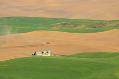 Palouse Farm (Matthew Singer) Tags: washington unitedstates garfield palouse steptoebutte
