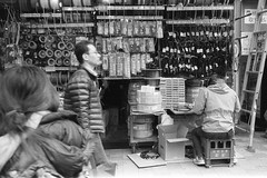 (monochrome hands) Tags: leica blackandwhite film japan 35mm 35 foma summaron supergrain retropan