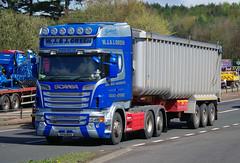 W J & J Green of Corskie Scania R560 SY12BUU on the A90, Dundee, 2/5/16 (andyflyer) Tags: truck transport lorry a90 haulage hgv roadhaulage scaniar560 wjjgreen corskie roadtramsport sy12buu greenofcorksie