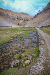 On a way to Gordale Scar (Mariusz Talarek) Tags: uk england nature walking landscape outdoors countryside nikon outdoor hiking yorkshire dslr northyorkshire pennines rambling malham naturephotography naturelover malhamdale landscapephotography outdoorphoto d90 naturephoto naturephotographer outdoorphotography onahike outdoorphotographer nikond90 landscapephotographer landscapephoto mtphotography addicted2walking
