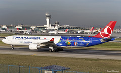 Turkish Airlines (UEFA Euro 2016 Livery) A330-300 TC-JOH (birrlad) Tags: colour turkey airplane airport ataturk euro taxi aircraft aviation airplanes istanbul international airline airbus dhaka airways airlines scheme departure ist takeoff runway bangladesh decals uefa turkish a330 airliner titles departing livery taxiway 2016 a333 a330300 a330303 tcjoh tk712