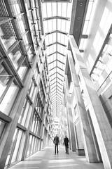 Departure (Lazy_Artist) Tags: windows light white ontario canada black hall gallery shadows ottawa main columns national