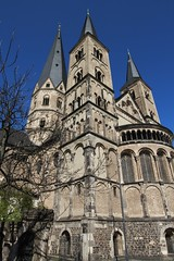 Bonn Munster (phil_king) Tags: building tower church architecture germany religious deutschland bonn exterior cathedral steeple minster munster