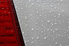Car (2015) (Kai van Reenen) Tags: car macro water drops droplets abstract lines line rain bad bentheim germany closeup contrast color canon 550d 1585mm drop white red colour waterdruppel waterdruppels