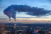 Steam Curve at Sunset (Guide, driver and photographer in Moscow, Russia) Tags: russia moscow steam heatingplant moscowcityscapes