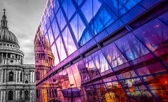 And Then there Was Light, St Paul's Cathedral, London, United Kingdom (Syed Ali Warda) Tags: city shadow england people blackandwhite panorama holiday color reflection building london eye art heritage history church monument monochrome architecture canon buildings dark landscape freedom mono landscapes photo amazing interesting exposure flickr cityscape purple cathedral artistic outdoor interior arts picture stpauls culture cityscapes dramatic highcontrast architectural story excellent historical colored hdr panaroma thisisart panaromic archi selectivecolor observing historicalplace greatphotographers heritagesite flickrsbest colorpop flickrbest flickraward ithinkthisisart giantbuilding canon7d hdraward