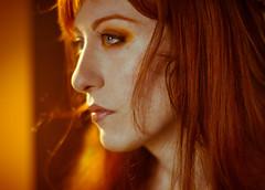 (Lilith Ecate) Tags: portrait woman selfportrait face self hair donna mujer perfil retrato autoretrato redhead autoritratto ritratto viso rostro profilo