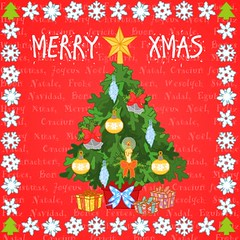 MERRY CHRISTMAS (los dibujos de Alapapaj) Tags: xmas art illustration children arbol navidad funny child flash cartoon decoration feliznatal merrychristmas greetingcard vector ilustracion feliznavidad felicitacion buonnatale decoracion nadoligllawen froheweihnachten joyeuxnol happyxmas bonnadal bonesfestes eguberri wesolychswiat shinnenomedeto  merikirihimete craciunfericit chungmunggiangsinh zaligekertfeest selamatharinataldantahunbaru gldeligjuloggodtnytr bonesnavidaes  wesoychwitboegonarodzenia christmastrre godjulochgottnyttrtahitiiaora