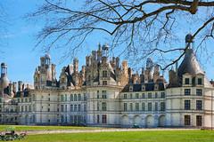 Chteau de Chambord (jjcordier) Tags: france royal chambord loire chteau faade chemine tourelle