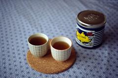 film (La fille renne) Tags: film home cup analog 35mm tea drink kodak minoltax700 grain indoor 50mmf2 kodakcolorplus200 kusmitea bloomingville lafillerenne