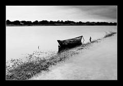 L`Albufera. (Vicensalamas) Tags: agua invierno barcas comunidadvalenciana laalbufera