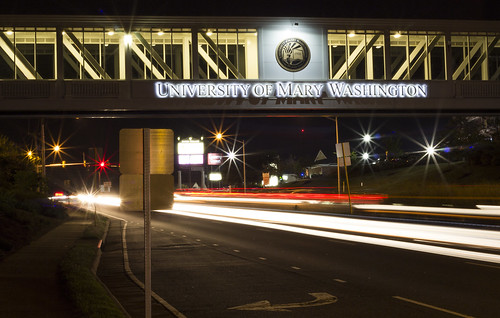 UMW Bridge at Night