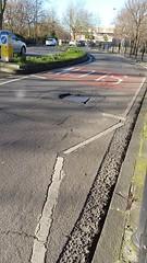20160128_114622 (Carol B London) Tags: road tarmac roadworks cobblestones e1 stepney londone1 towerhamlets stepneygreen eyesores lbth