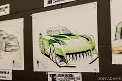 Middlecott Sketchbattle Experiment 2016 #MSBEXP (jon.adams) Tags: auto show art sketch detroit experiment naias 2016 middlecott sketchbattle msbexp