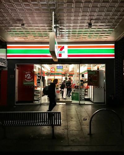 7 Eleven. Elizabeth St, Melbourne