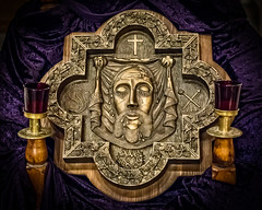 The Holy Face of Jesus (rikki480) Tags: art church face parish catholic veil christ jesus veronica holy mission crucified