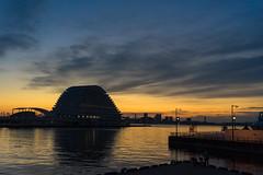 Port_Of_KOBE_27 (Sakak_Flickr) Tags: sea port sunrise mosaic kobe hyogo merikenpark