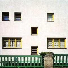 The Muller Villa. ($t) Tags: windows architecture prague praha praga czechrepublic loos finestre adolfloos razionalismo villamuller themullervilla