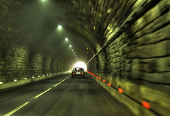 Drive into the Light (Habub3) Tags: auto light car canon drive licht tunnel powershot g12 2016 habub3