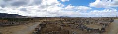 imgp3748 - imgp3750 (Mr. Pi) Tags: mountains ruin hills morocco column volubilis archaeologicalsite