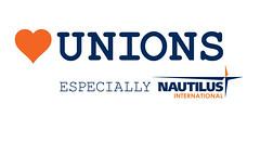 Heart Unions Week nautilus logo (nautilus.international) Tags: photo union navy competition international maritime merchant members nautilus heartunions