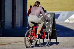 I want to ride my bicycle (osto) Tags: bike bicycle denmark europa europe sony bicicleta zealand bici scandinavia danmark velo vlo slt rower cykel a77 elsinore sjlland osto alpha77 osto fietssykkel february2016