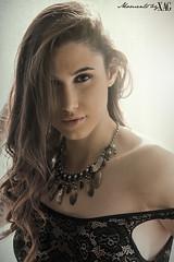Jaika (Moments by Xag) Tags: light portrait woman black beauty hair lights mujer model nikon retrato moda lingerie modelo lenceria brunette belleza pelo 70200mm posado d610 xag ltytr1