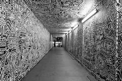 The Doodle Man (scarlet-pimp) Tags: london art illustration graffiti vanishingpoint artist tunnel doodle timeout greateasternstreet londonist visitlondon samcox thedoodleman