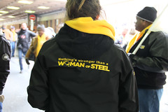 IMG_5882 (United Steelworkers - Metallos) Tags: canada labor demonstration solidarity labour unions usw womenofsteel unitedsteelworkers canlab standupforsteel hamontrally