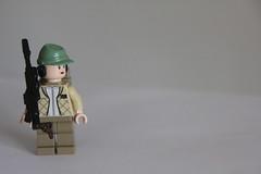 General Leia (Jacka!) Tags: vintage star lego general princess wars custom leia blaster minifigure organa brickarms a295