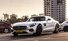 9934876 Front (rOOmUSh) Tags: auto white car spot exotic mercedesbenz supercar amg gts