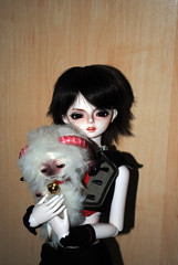 Mini-Moni_Wendy (Wildcard_Snowy) Tags: pink girl rain skin william normal heavy nsp dollzone loongsoul