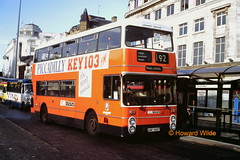G M Buses 7929 (ANC 929T) (SelmerOrSelnec) Tags: bus manchester leyland 192 parkroyal gmt atlantean gmbuses piccadillybusstation anc929t