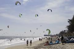 Kiteboarding - Mui Ne (Year of Travel - a photo a day) Tags: kite kiteboarding ne vietnam mui