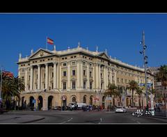 Gobierno Militar de Barcelona (amandia) Tags: barcelona columbus monument statue spain military bcn catalonia lasramblas portauthority columbusmonument gobiernomilitar