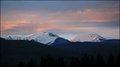 DAWN ON  THE OLYMPICS (NDAV) Tags: dawn olympicmountains newsnow