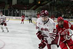 Hockey vs. BU (dailycollegian) Tags: umass bostonuniversity collegehockey umasshockey shannonbroderick ivanchukarov