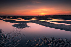 Dreaming (Sunset Snapper) Tags: uk sunset beautiful reflections march still sand nikon haylingisland peaceful hampshire calm dreaming filter pools lee nd serene ripples grad southcoast tranquil d800 2470mm 2015 poolsoflight sunsetsnapper westwinnersandbank