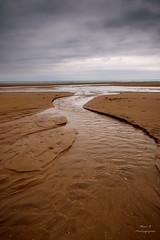 Omaha Beach - Normandy - France (marcb.photographie) Tags: sea cloud mer france beach landscape grey sand sable nuage paysage normandy plage ocan