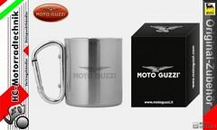 Foto Nr. 1: Moto Guzzi Aluminium Tasse Zubehr neu (motorradtechnik) Tags: tasse moto aluminium neu guzzi zubehr