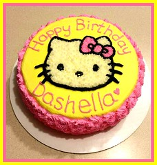 Hello Kitty cake by Christine, Linn County, IA, www.birthdaycakes4free.com